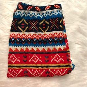 Pants - 🆕 Tribal Print Brushed Leggings